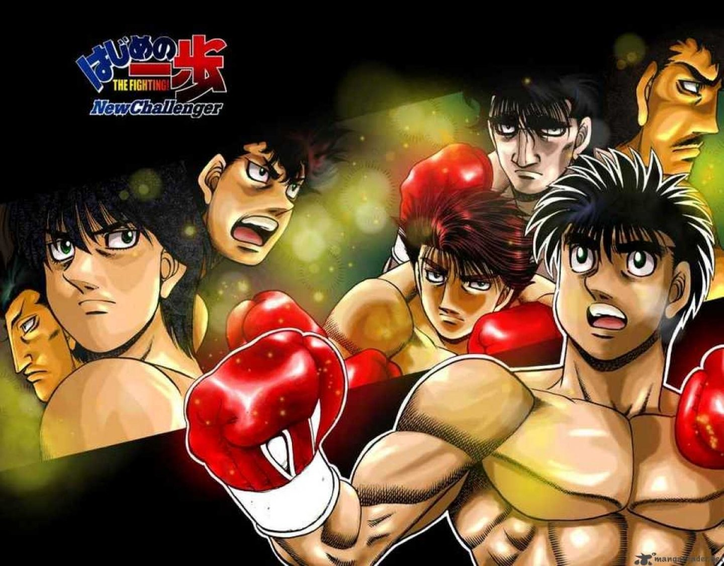 Boxing Wallpapers Hd Iphone Hajime No Ippo Wallpaper And Background Image 1440x1126