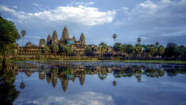 Angkor Wat Hd Wallpaper Background 1920x1080
