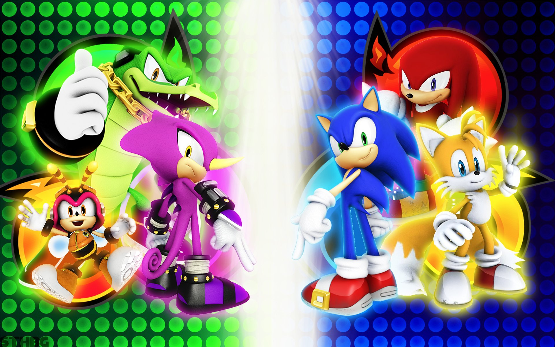8 Bit Iphone X Wallpaper Sonic Heroes Full Hd Wallpaper And Background Image