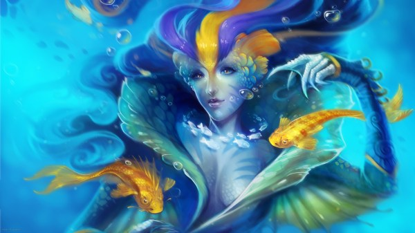 Mermaid Full Hd Wallpaper And Background 2560x1440 Id