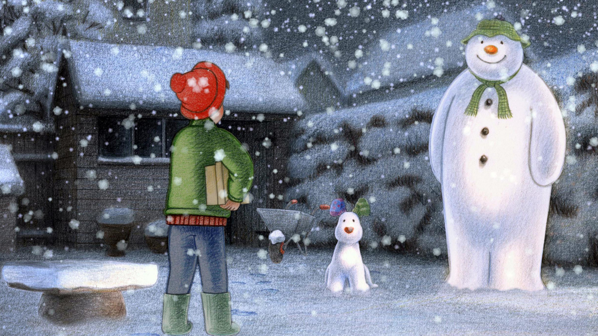 Hindi Movie Wallpapers With Quotes 1 The Snowman And The Snowdog Hd Wallpapers Backgrounds
