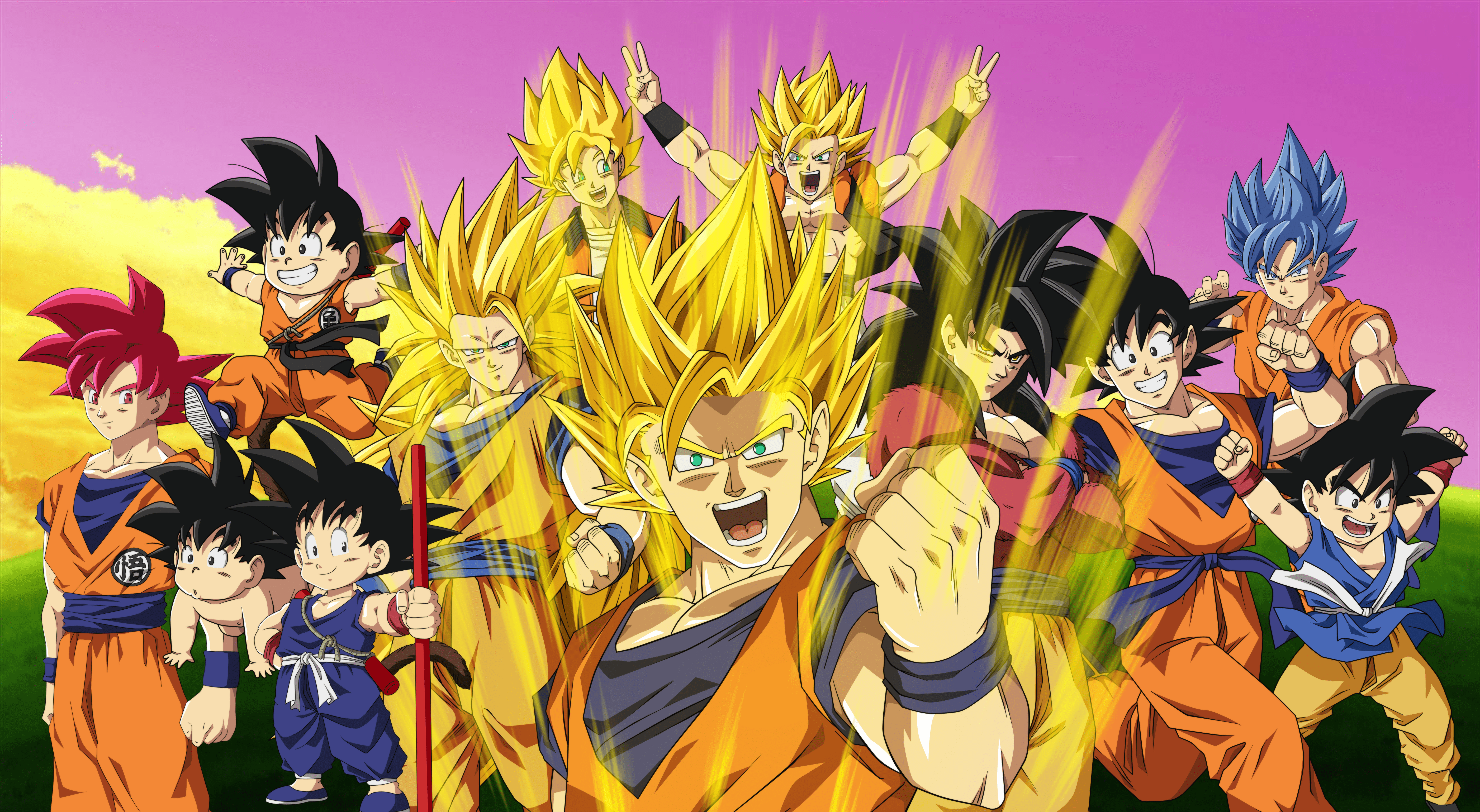 Share the best gifs now >>> 146 4K Ultra HD Dragon Ball Z Wallpapers | Background ...