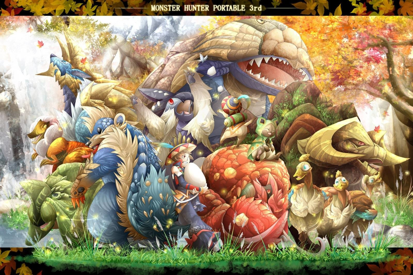 3rd Girls Wallpapers Monster Hunter Portable 3rd Wallpaper And Background Image