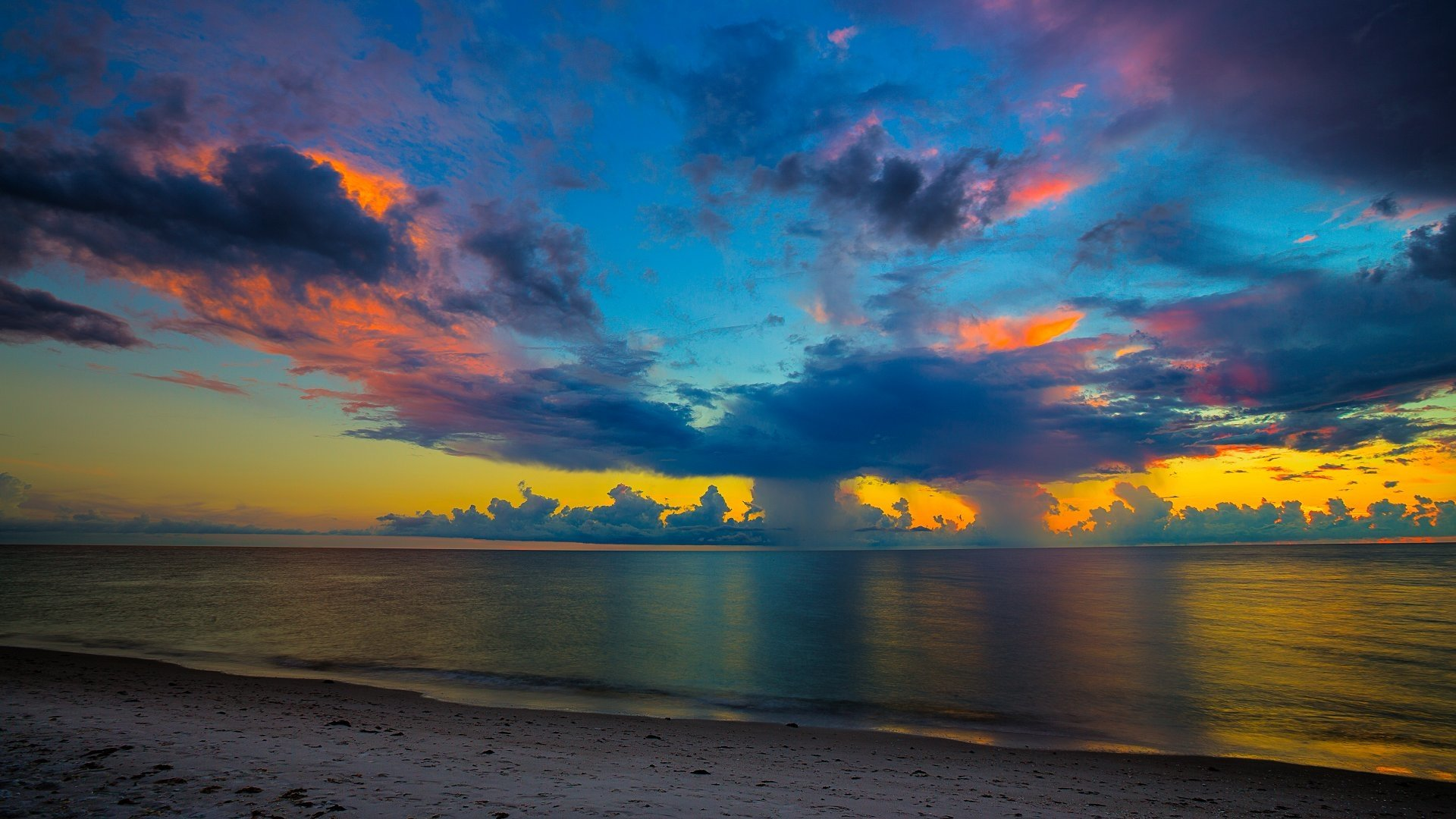 Photo Wallpaper 3d In Tampa Fl Florida Beach Sunset Hd Wallpaper Background Image