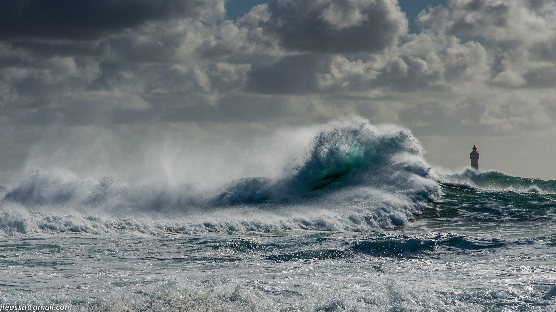 1080p Iphone 7 Plus Wallpaper Ocean Waves In Storm Fond D 233 Cran Hd Arri 232 Re Plan