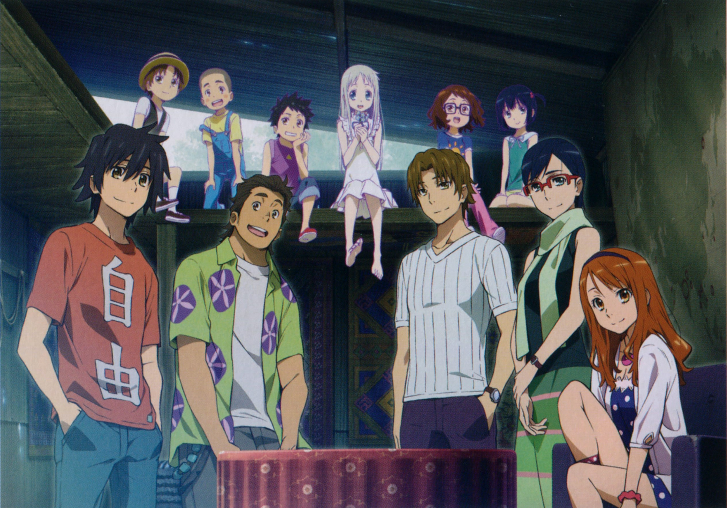 Emo Girl Wallpaper For Facebook Profile Anohana Hd Wallpaper Background Image 2527x1767 Id