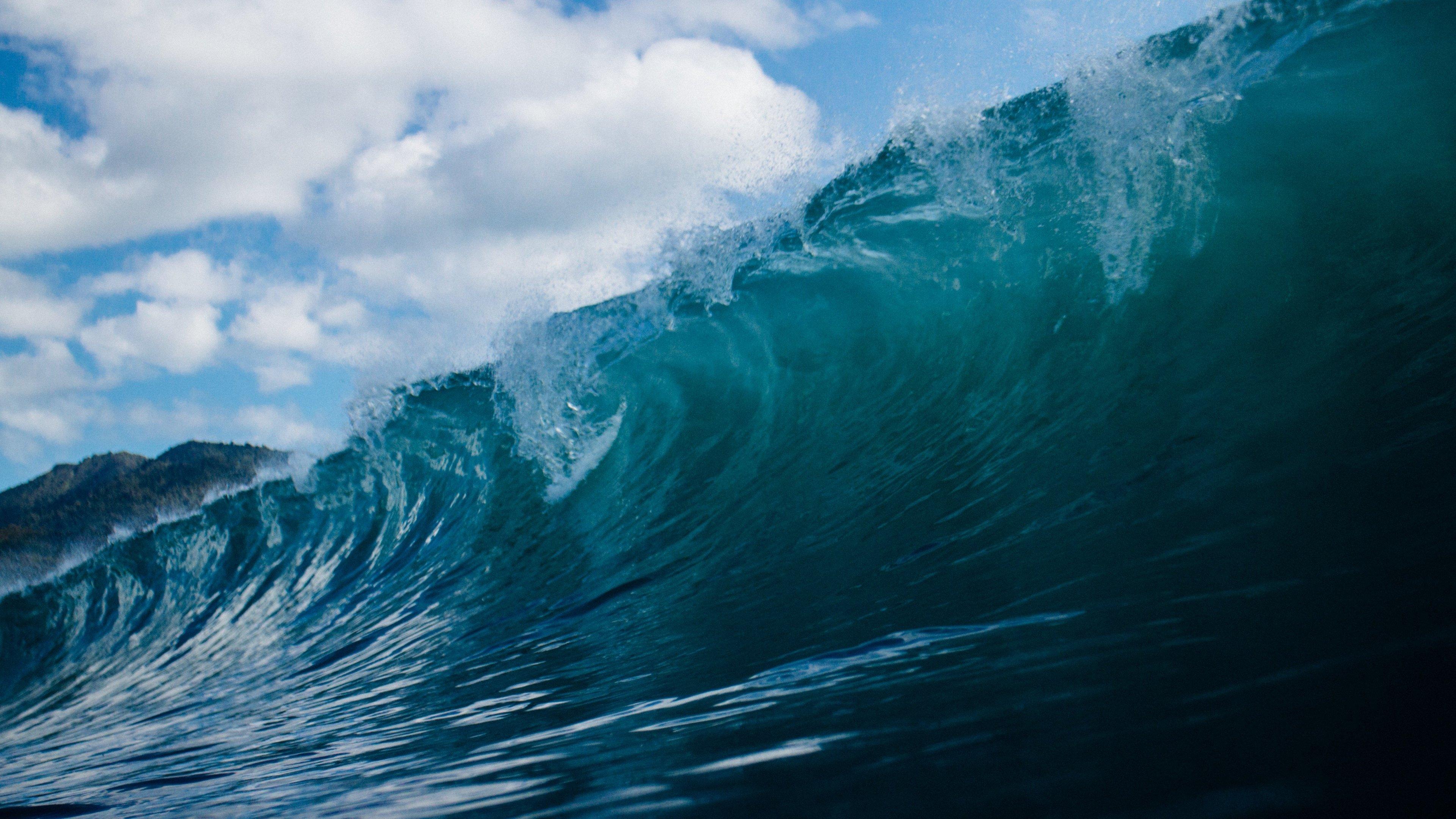 Iphone 8 Plus X Ray Wallpaper Ocean Wave 4k Ultra Hd Wallpaper Sfondi 3840x2160 Id