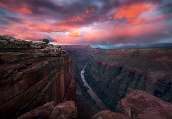 Grand Canyon Sunset Wallpaper And Background 1800x1249 Id 861024 - Abyss