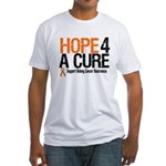 Kidney Cancer Hope4aCure Fitted T-Shirt