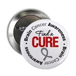 "BrainCancerCure 2.25"" Button (10 pack)"