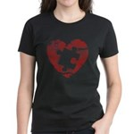 PIECE OF MY HEART Women's Dark T-Shirt