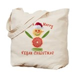 Merry Vegan Christmas Tote Bag