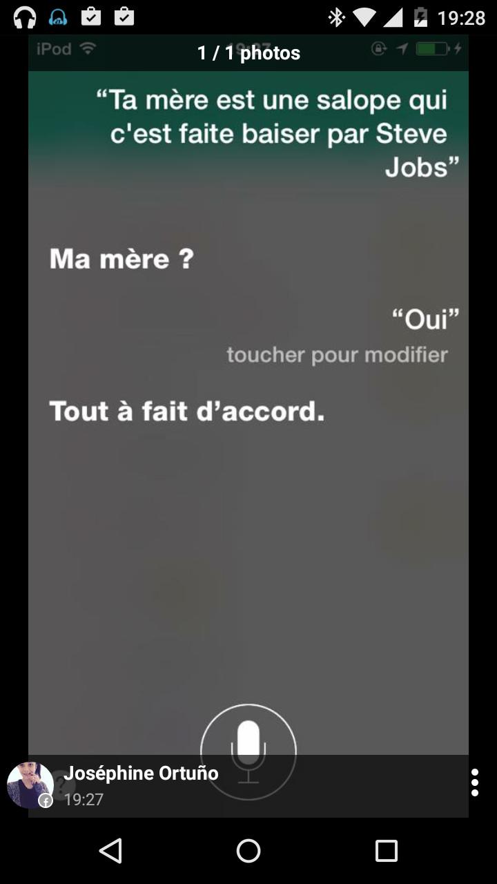 Tu M'ôtes Les Mots De La Bouche : m'ôtes, bouche, Siri,, Accident, Eliedu30, Memedroid