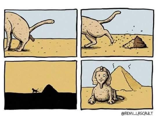 C'est normal en égypte