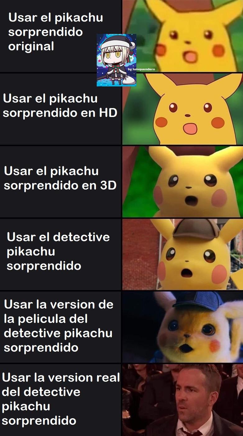 Top Memes De Pikachu En Espaol Memedroid
