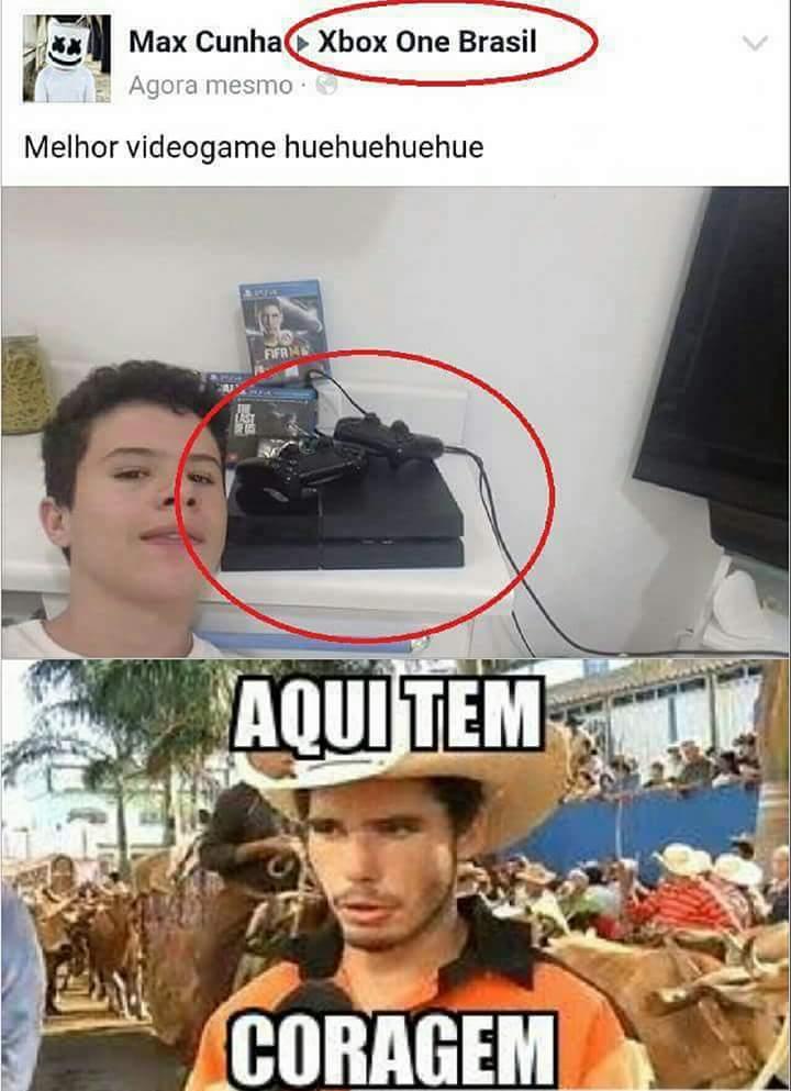 Ps4 Vs Xbox One Meme : DAVA_JONAS_OFICIAL, Memedroid