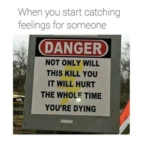 falling in love be