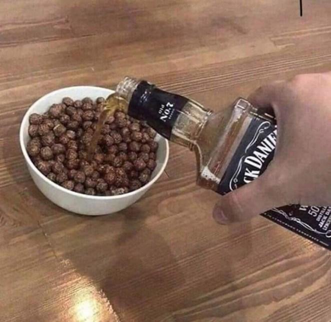 Perso c'est Jack après les céréales