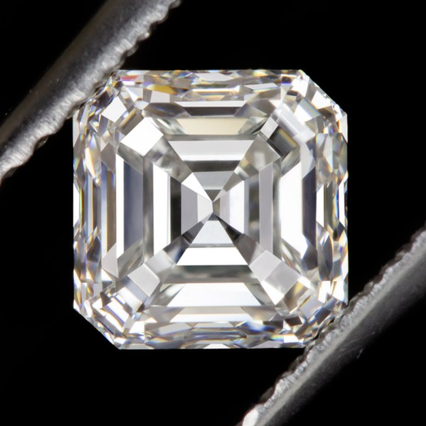 1ct Gia Certified Vs1 Asscher Cut Diamond Square Emerald Natural 1 Carat Loose
