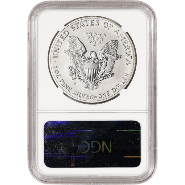 2006- American Silver Eagle Reverse Proof 1 - Ngc Pf70
