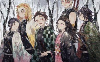 Demon Slayer Anime Hd Wallpaper Trendsmeup