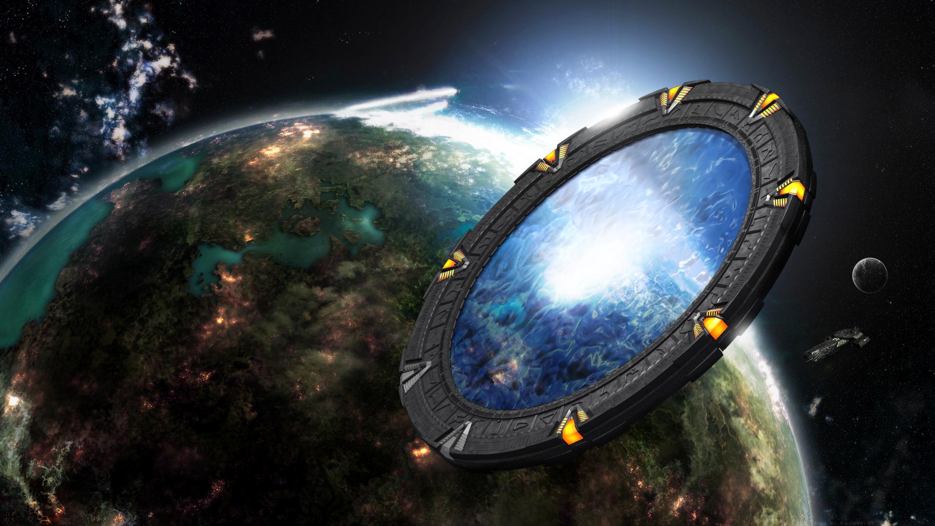 Iphone 5 Hd Space Wallpaper Dj Corny Deviantart Com Art Stargate In Space 160938261 Q