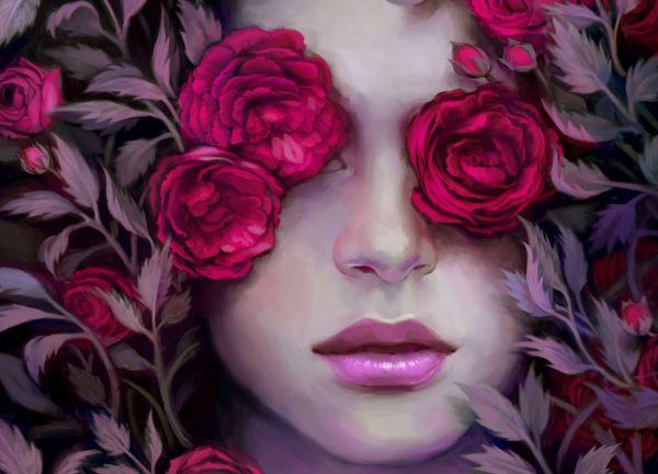 Http Art Rose-portrait