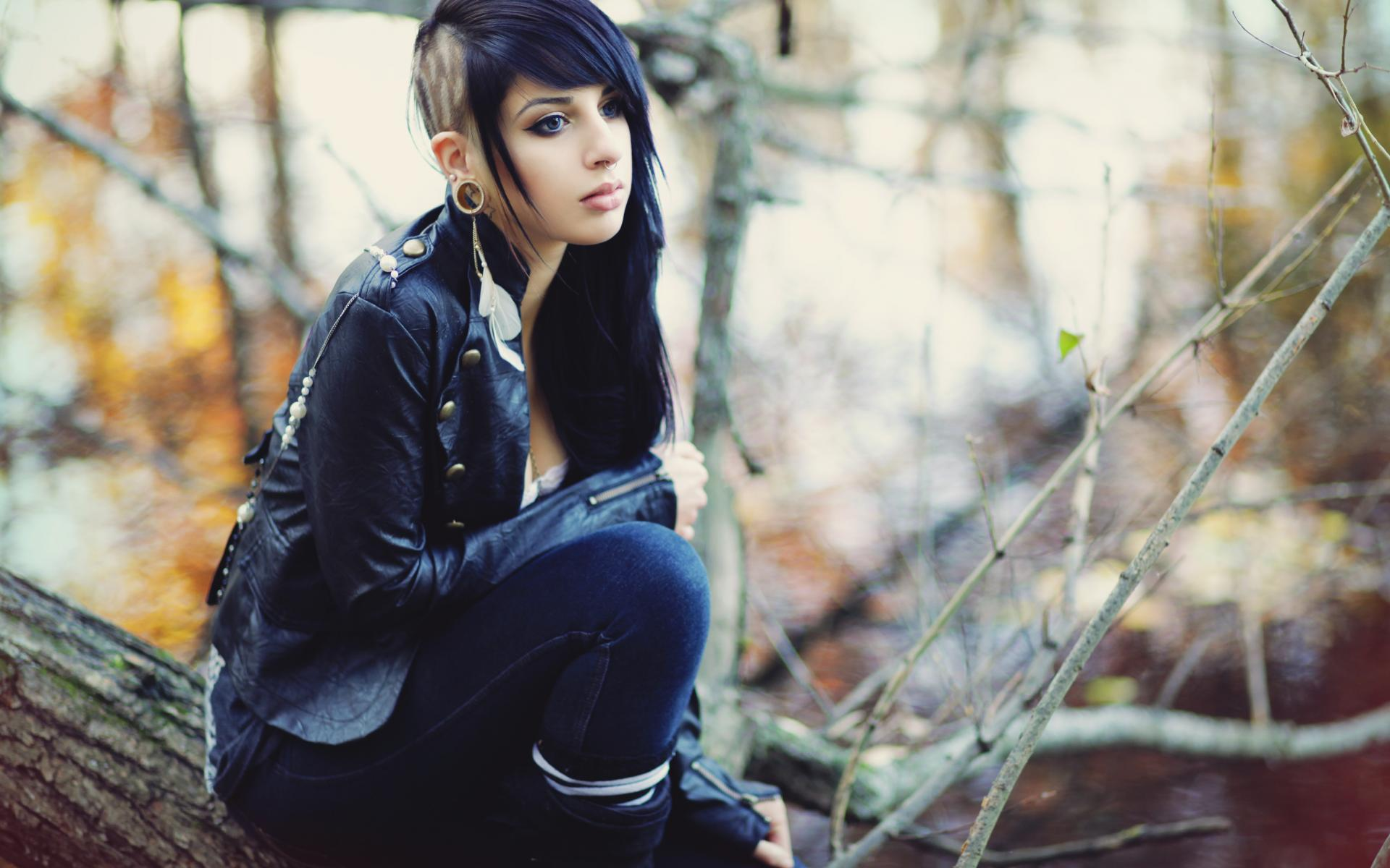 Download Sad Emo Girl Wallpaper Emo Hd Wallpaper Background Image 1920x1200 Id