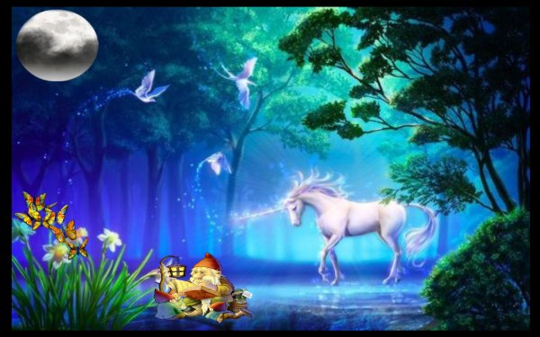 Fantasy - Unicorn Wallpapers and Backgrounds