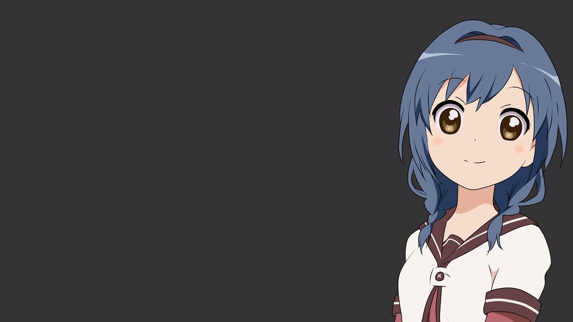 Anime Cute Girl Hoodie Wallpaper 1080p 173 Yuru Yuri Hd Wallpapers Background Images