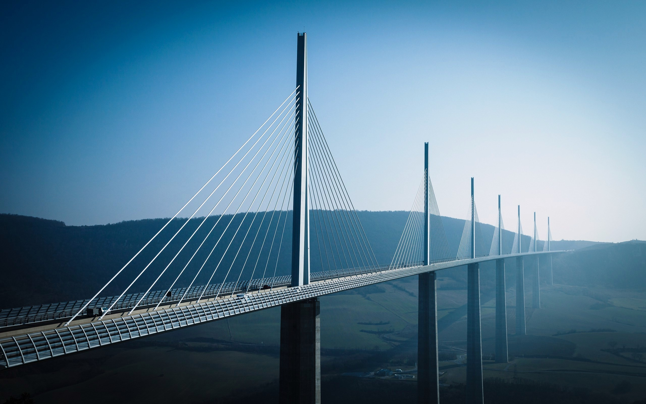 6 Millau Viaduct HD Wallpapers  Backgrounds  Wallpaper Abyss