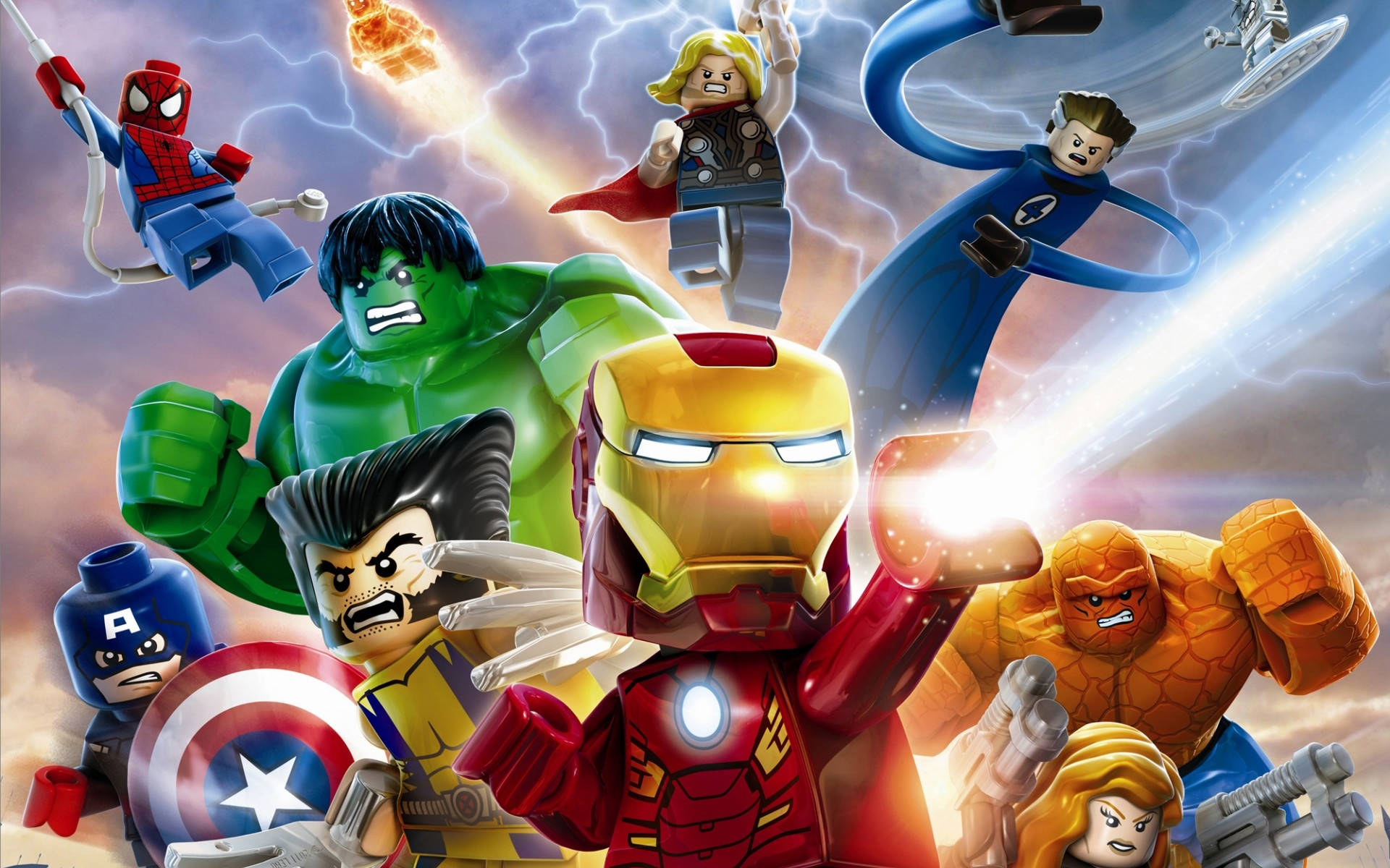 15 Lego Marvel Super Heroes Hd Wallpapers  Background
