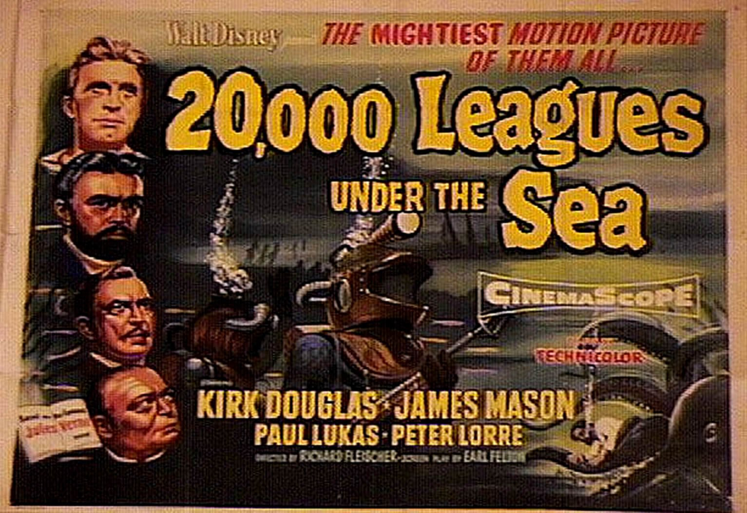20 000 Leagues Under The Sea Wallpaper And Background