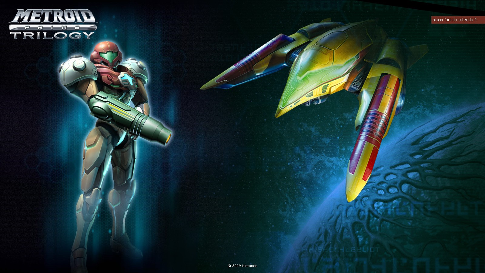 Metroid Iphone Wallpaper Metroid Prime Trilogy Wallpaper And Background Image