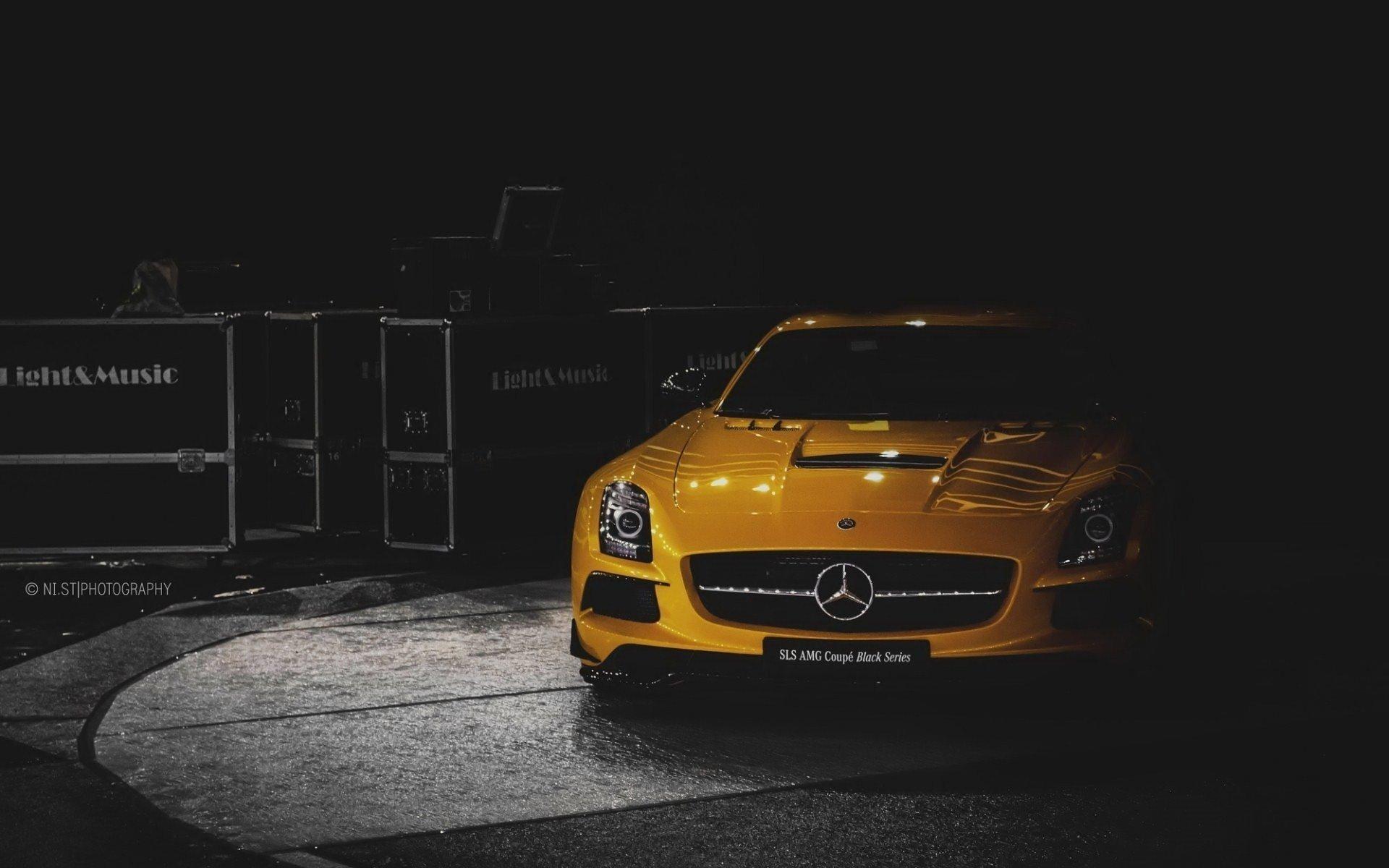 Exotic Car Wallpaper Iphone Mercedes Benz Sls Amg Full Hd Fond D 233 Cran And Arri 232 Re