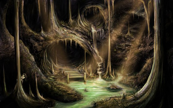 Cave Hd Wallpapers Backgrounds - Wallpaper Abyss