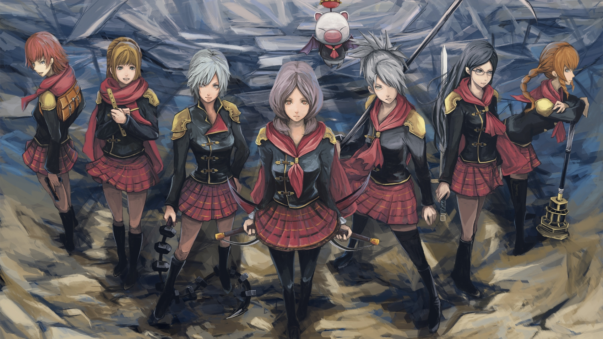 13 Final Fantasy Type0 Hd Hd Wallpapers  Backgrounds