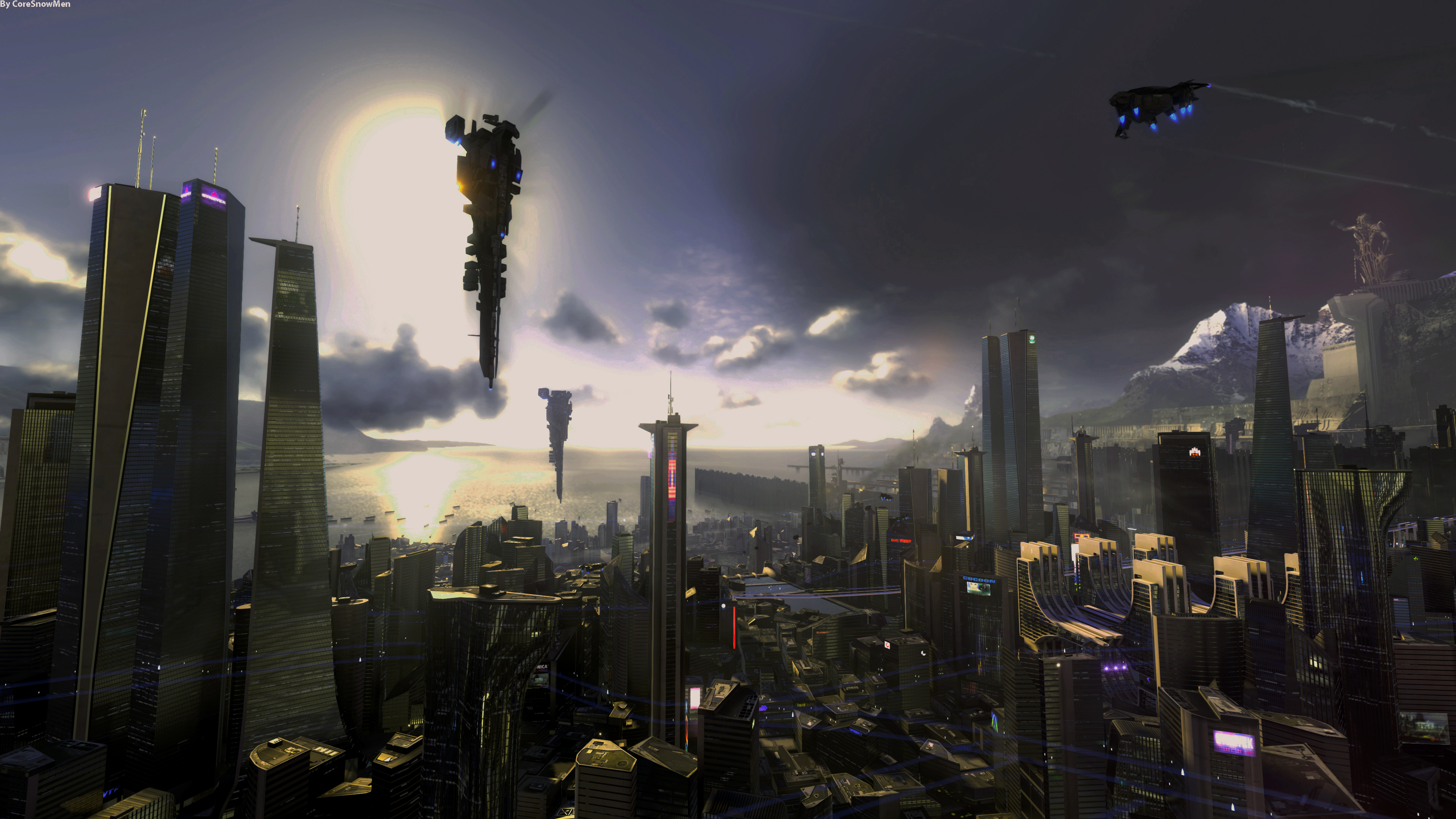 Killzone Shadow Fall Ps4 Wallpaper City Of Future 4k Ultra Fond D 233 Cran Hd Arri 232 Re Plan