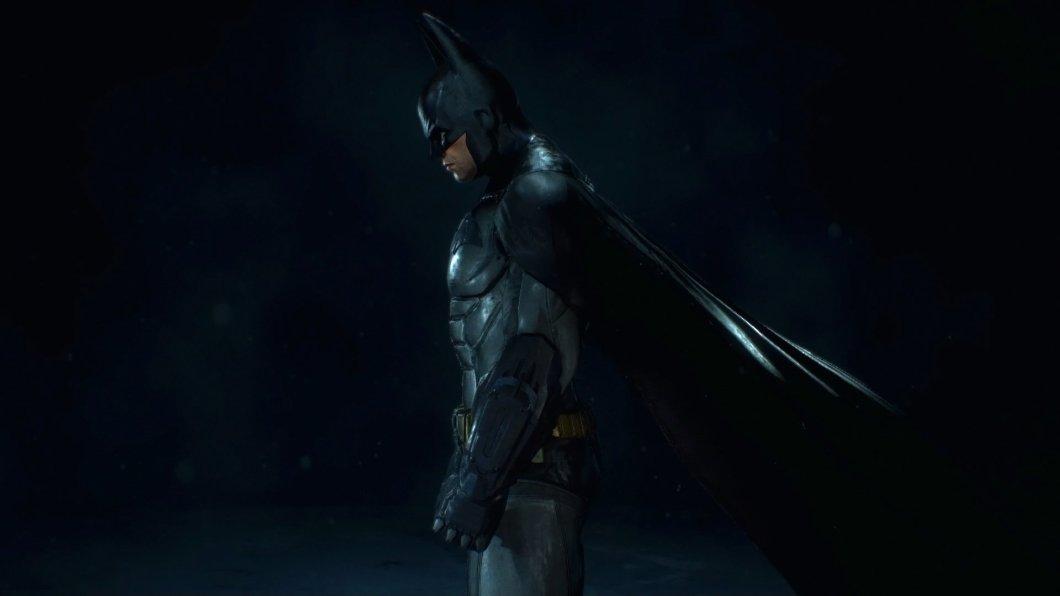Batman Arkham Knight Batsuit Hd Wallpaper Background Image