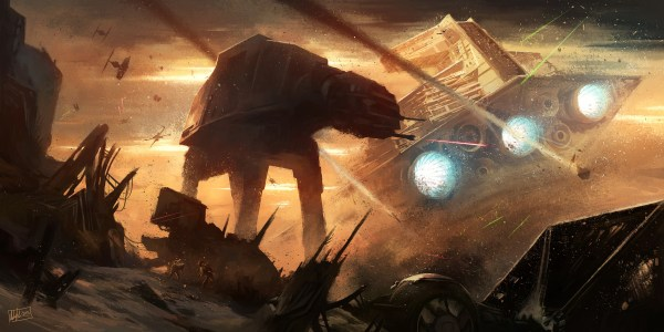 Star Wars Battle Art