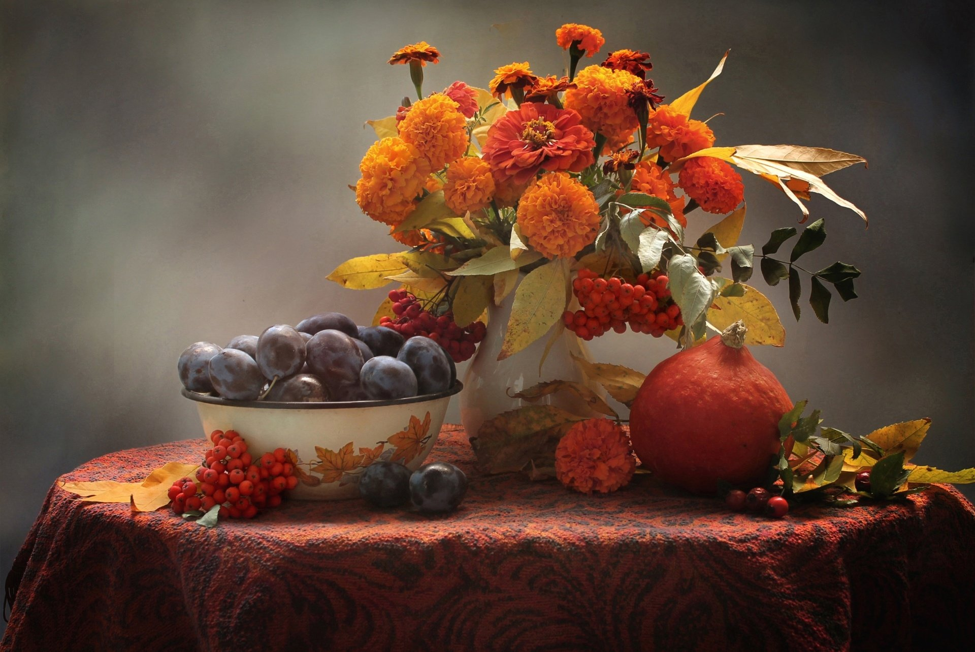 Fall Leaves Iphone 5 Wallpaper Nature Morte Fond D 233 Cran Hd Arri 232 Re Plan 1920x1283