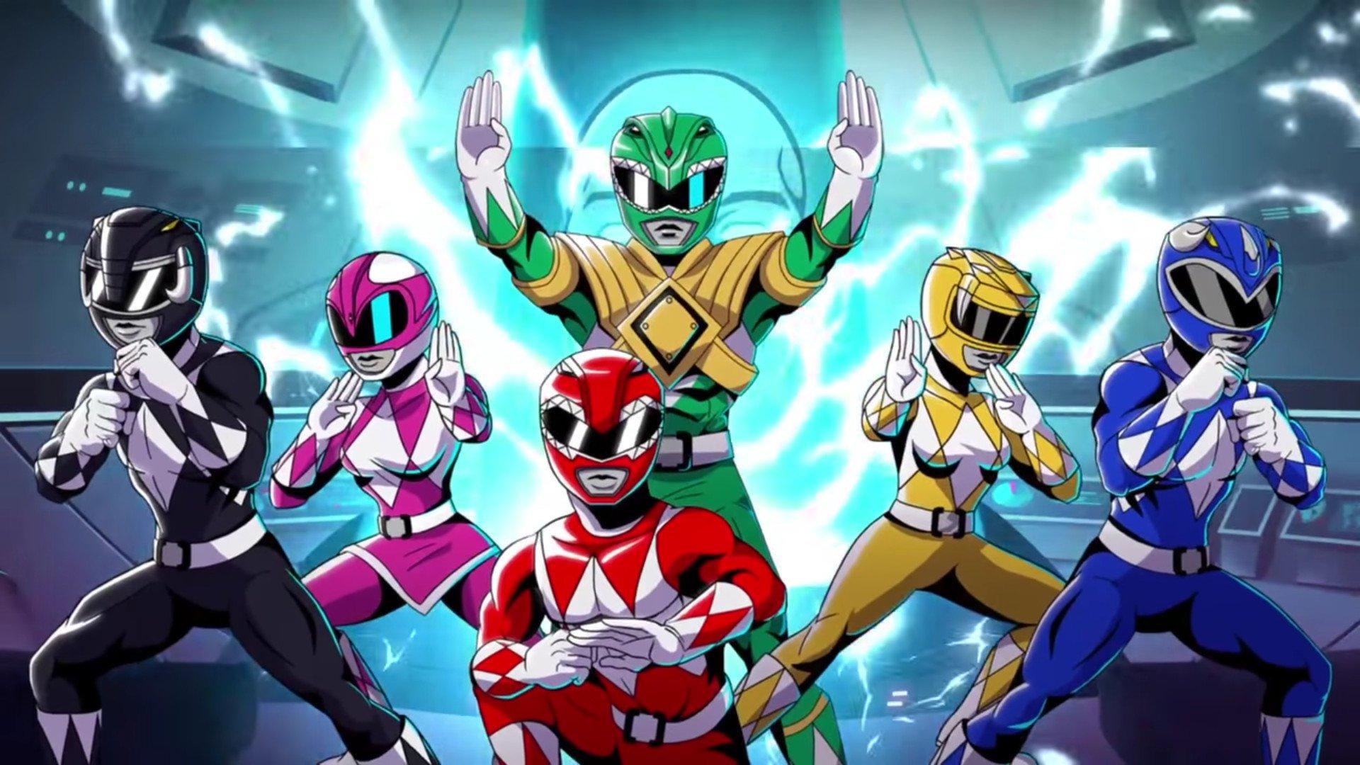 Mighty Morphin Power Rangers Iphone Wallpaper Mighty Morphin Power Rangers Mega Battle Hd Wallpaper