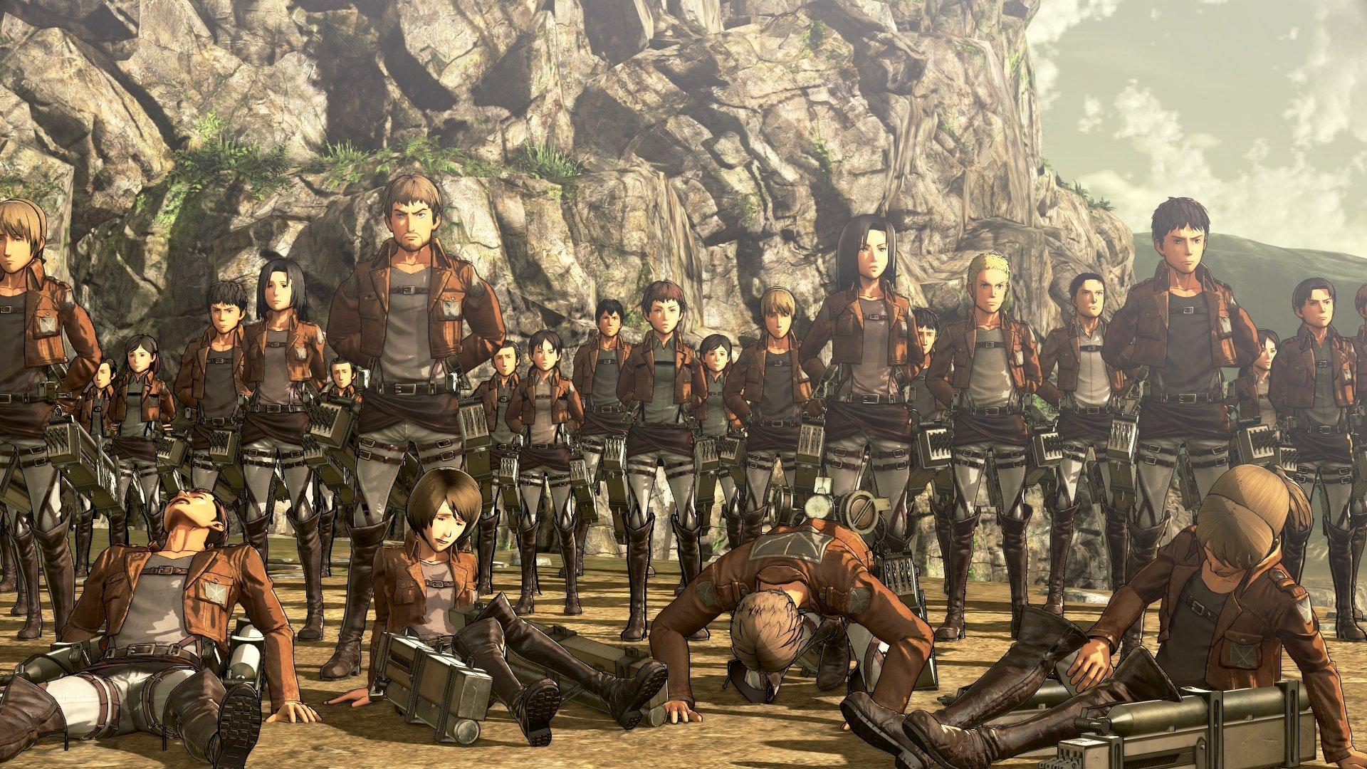 Attack on titan · aot. 4 Attack on Titan: Wings of Freedom Fondos de pantalla HD ...