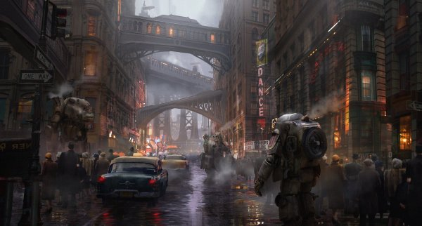 Dieselpunk Wallpaper And Background 1920x1031 Id