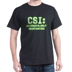 CSI (Continental Shelf Investigation) t-shirt