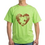 PIECE OF MY HEART Green T-Shirt