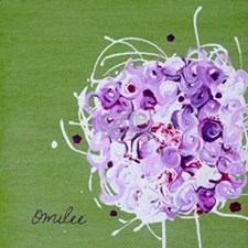 Bouquet Tile Coaster