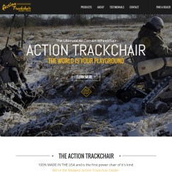 Action Track Chair Bar Height Table And Chairs Midwest Trackchair Dealer The First All Terrain
