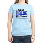 I Wear Blue (Husband) Women's Light T-Shirt