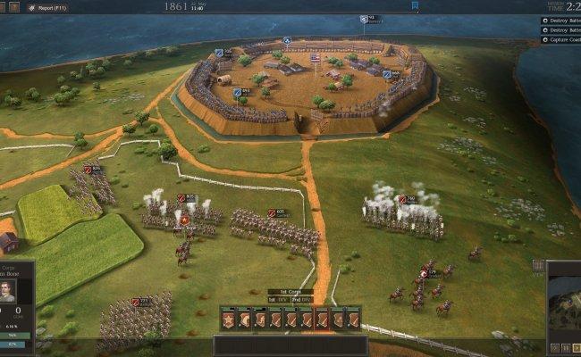Ultimate General Civil War Screenshots Gallery